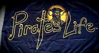 PIRATE'S LIFE Brand 3' x 5' FLAG Indoor/Outdoor Blackbeard