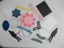 assorted mixed  craft die cuts