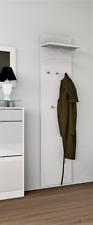 "Wandgarderobe ""Oliva"" Garderobenpaneel Garderobe Flur Diele 170 Weiß"