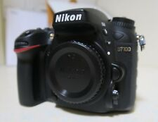 Nikon D D7100 24.1MP Digital SLR Camera - Black (Body only)