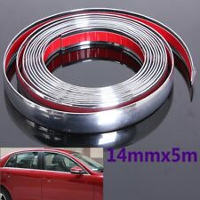 5M 14mm Flexible Trim Moulding Strip Decorative Line Car Auto Interior Exterior