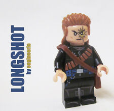 LEGO Custom --- Longshot --- Marvel Super heroes X-Men '90s wolverine cyclops