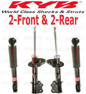 KYB Excel-G Front /& Rear Strut Shock Absorbers Kit for Hundai Santa Fe 2007-09