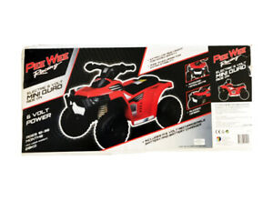 Peewee Racing Electric 6v Mini Quad Ride on Toy