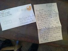 #12-76 old world war two wwii letter 1945 san fran cal philly schnider