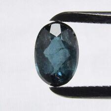 Echter Blauer Turmalin Oval 0.85ct 7x5mm