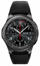 Samsung Galaxy Gear S3 frontier 46mm Stainless Steel Case Dark Gray Sport...