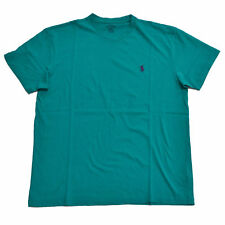 Brand New Ralph Lauren Mens Short Sleeve Crew Neck T-Shirt M Pool Green