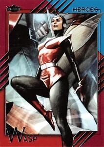 WASP / 2015 Marvel Fleer Retro (Upper Deck) BASE Trading Card #56