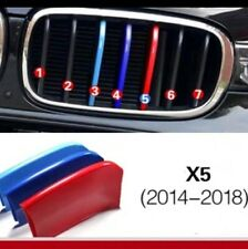 BMW M-Sport Kidney Grille Grill 3 Colours Cover Clip for BMW X5 F15 MY14-18