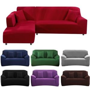 Elasticity Sofa Cover Extensible Couch Cover Sectional Single/two/three/four