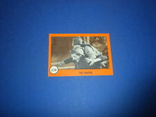 HORROR MONSTERS card #134 Nu-Cards 1961 orange series - monster sf movies