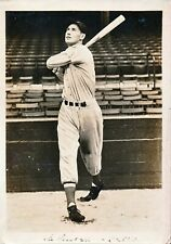 """1939 TED WILLIAMS Rookie 5""""x7"""" Photo PSA/DNA Type 1"""