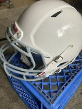 Used Riddell Youth Speed Classic Football Helmet - Large - White