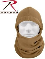 Coyote Polar Fleece Adjust Balaclava Cold Weather Head Neck Warmer Rothco 5585
