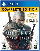 The Witcher 3: Wild Hunt - Complete Edition [Sony PlayStation 4 PS4 All Content]