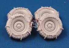 Tank Workshop 1/35 Krupp Protze Rear Wheels w/Chains (4 pieces) (Tamiya) 353024