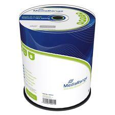 100 MediaRange DVD-R 4,7GB 16X Cake Vergini Vuoti MR442 + 1 cd verbatim omaggio