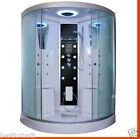 2 Person Corner Steam Shower,thermostatic.Bluetooth.Aromatherapy.USA Warranty.