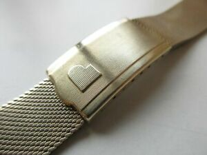 Pulsar Time Computer Inc USA gold plated watch bracelet lug width 18.7 mm