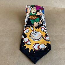 Hanna Barbera Vintage Flintstones Bowling Tie