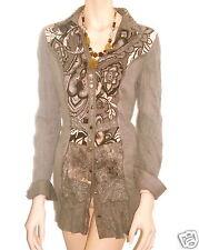 Traumhaft Tunika /Kleid Biba Celebration Glam Gray Neu  Gr.42