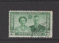 BASUTOLAND 1947 2d GREEN ROYAL VISIT Nice Used