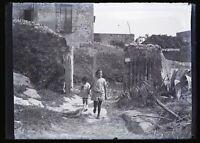 Francia Casa Alla Campagna c1930 Foto Negativo Placca Lente 6x9cm
