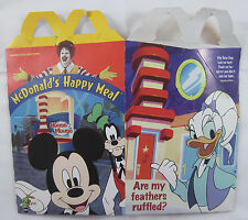 McDonald's Disney's House of Mouse - Happy Meal Carton - 2001