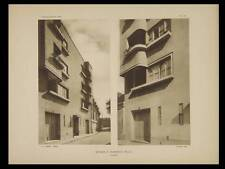 BAGNEUX, 5 RUE FORTIN - 1929 - 3 PLANCHES ARCHITECTURE - ANDRE LURCAT
