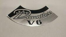 Jeep Buick V6 Air Cleaner Decal