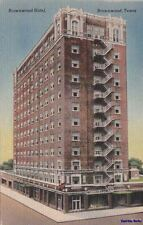 Postcard Brownwood Hotel Brownwood Texas