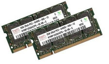 """2x 2GB 4GB DDR2 RAM 800 Mhz Apple iMac 3,1 """"Early 2008"""" MacBook Hynix SO-DIMM"""