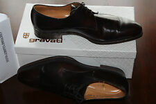 GRAVATI PLAIN TOE OXFORD DARK BROWN #9us $620