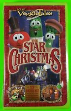 VeggieTales - The Star of Christmas (VHS, 2002, Clamshell) NEW Sing a long Songs