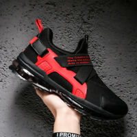 Men's Air Sole Athletic Sneakers Sports Running Shoes Cushion Sole Casual Shoes
