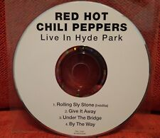 Red Hot Chili Peppers - CD SINGLE 2004 - Live In Hyde Park - RARE OOP