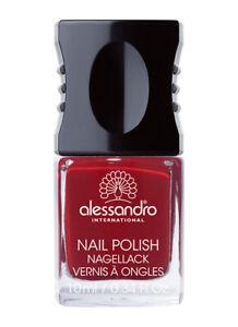 alessandro Nagellack Velvet Red 126 / 10 ml