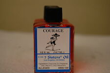 Courage Magickal Oil (1) 4DRMs 7 Sisters Of New Orleans, Witch Shop, Wicca