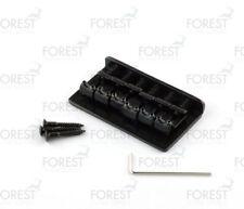 Hardtail string-thru bridge for Telecaster ® Stratocaster ® guitar, BN-005,black