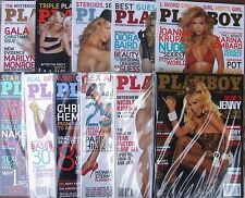PLAYBOY MAGAZINE LOT OF 11 2005 FULL YEAR JUST MISSING OCTOBER (VF/NM)