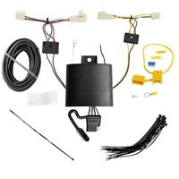 Trailer Hitch Wiring Tow Harness 4-Way For Toyota RAV4 2019 2020 2021