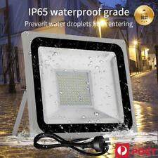 100W LED Flood Light Cool Warm White Work Wall Spot Floodlights IP65 240V