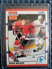 Doug Wilson Chicago  Blackhawks 1990-1991 Score All Star Second Team Card #320