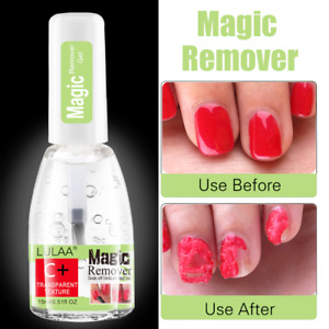 Nail Polish Remover Cleaner Burst Natural Magic Gel 15ml Nail Art Tools Nailcare