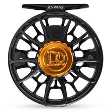NEW 2019 ROSS ANIMAS #5/6 FLY REEL MATTE BLACK -USA MADE, IN STOCK- FREE US SHIP