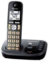 Panasonic KX-TGD220N Metallic Grey (KX-TGD220M) DECT 6.0 Cordless Phone System