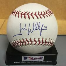 JOSH WILLINGHAM TWINS/A'S M.L. SIGNED BASEBALL W/COA