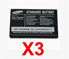 Lot Of 3 Samsung Ab553446Gz Batteries For A580 A640 A870 Siren A930 A990 Knack