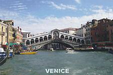 Postcard Grand Canal Rialto Bridge VENICE ITALY 2010 Color Post Card